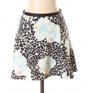 ZARA Floral Printed Mini Skirt Size S